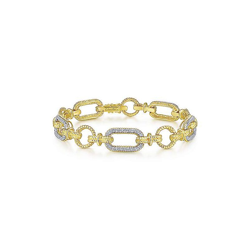 Sartor Hamann Signature Diamond Link Bracelet