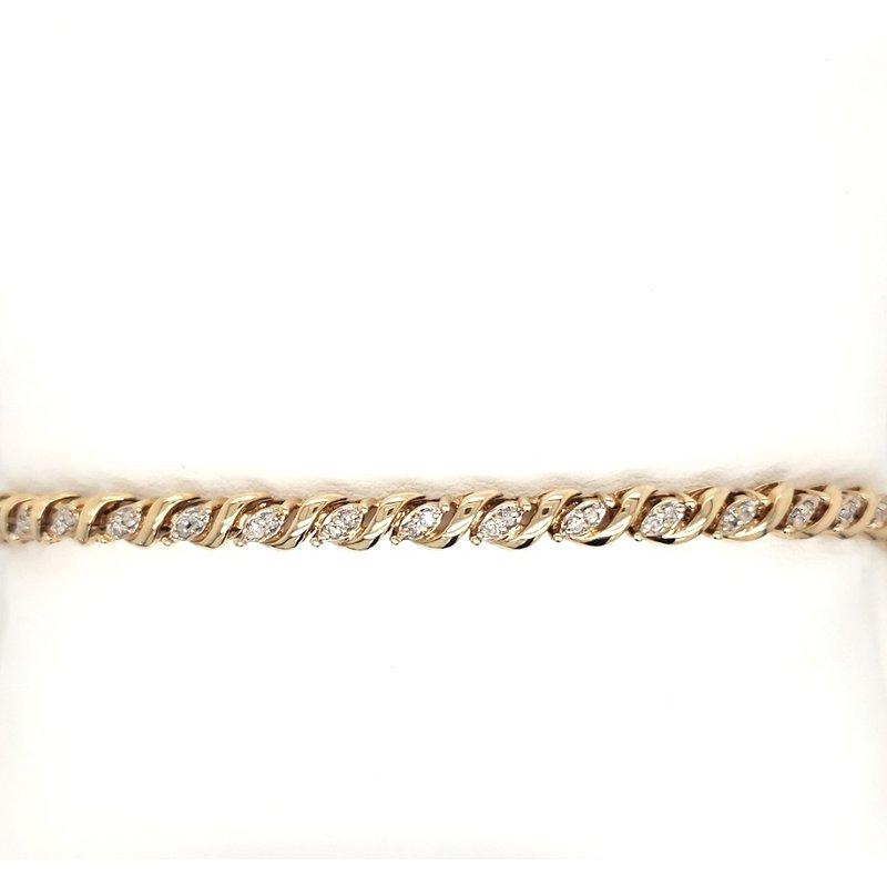 Estate Collection Diamond Tennis Bracelet