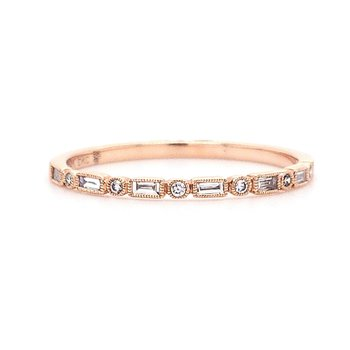 Beverley K Baguette Stackable Band