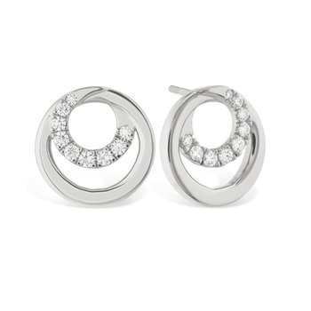Hearts on Fire Optima Diamond Earrings