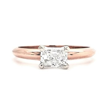 .60 CT Radiant Cut Solitaire
