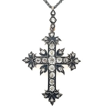 Authentic Pre-Civil War Era Cross Pendant