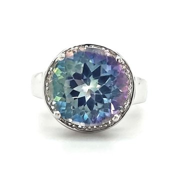 Mystic Topaz Fashion Ring