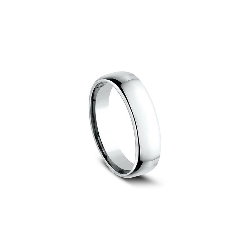 Sartor Hamann Bridal Euro Comfort Fit Wedding Band 5.5mm White Gold