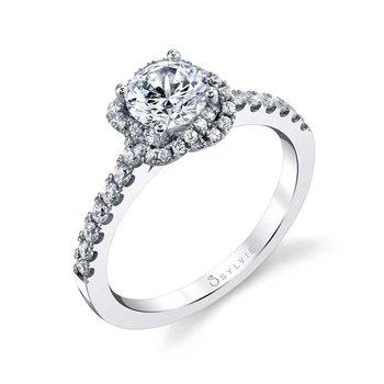 Engagement Ring Semi-Mount