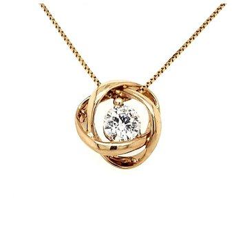 1/3 CT Time & Eternity Diamond Pendant