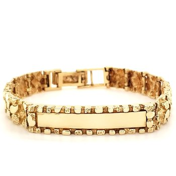 Engravable Gold Bracelet