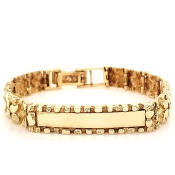 Engravable Gold Bracelet