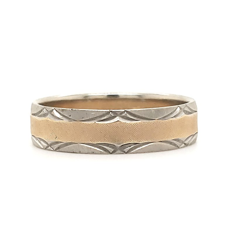 Estate Collection Textured Mens Band