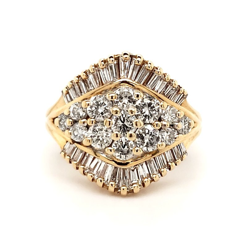 Estate Collection Diamond Cocktail Ring