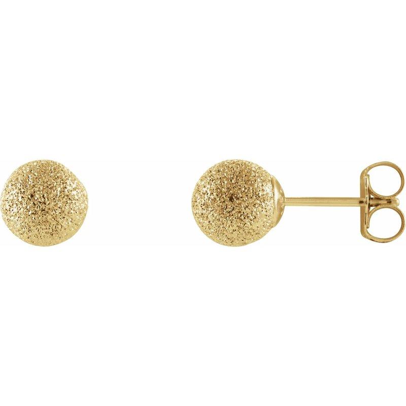 Sartor Hamann Signature 14K Yellow Gold Ball Earrings