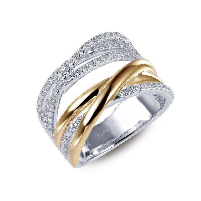 Sartor Hamann Signature Lafonn Sterling Silver Fashion Ring