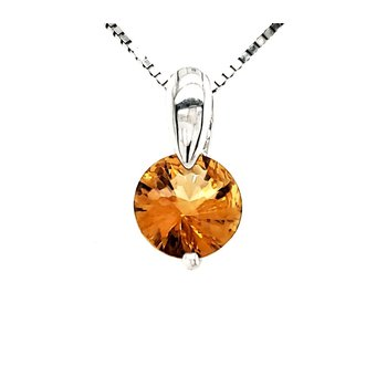 Citrine Fashion Pendant