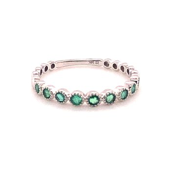 Stackable Gemstone Band