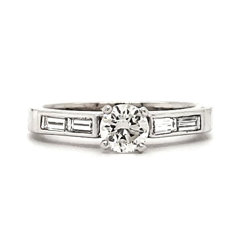 Sartor Hamann Closeouts Engagement Ring - Has Matching Wedding Band
