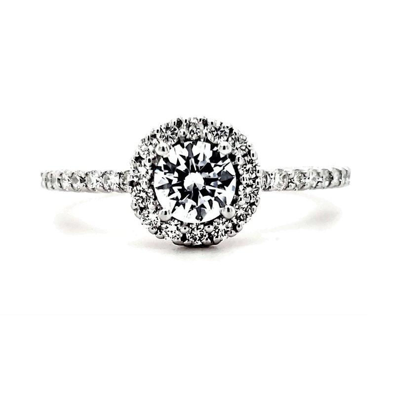 Sartor Hamann Closeouts Semi-Mount Engagement Ring