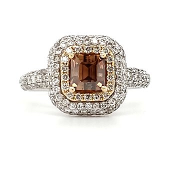 Fancy Brown Diamond Ring