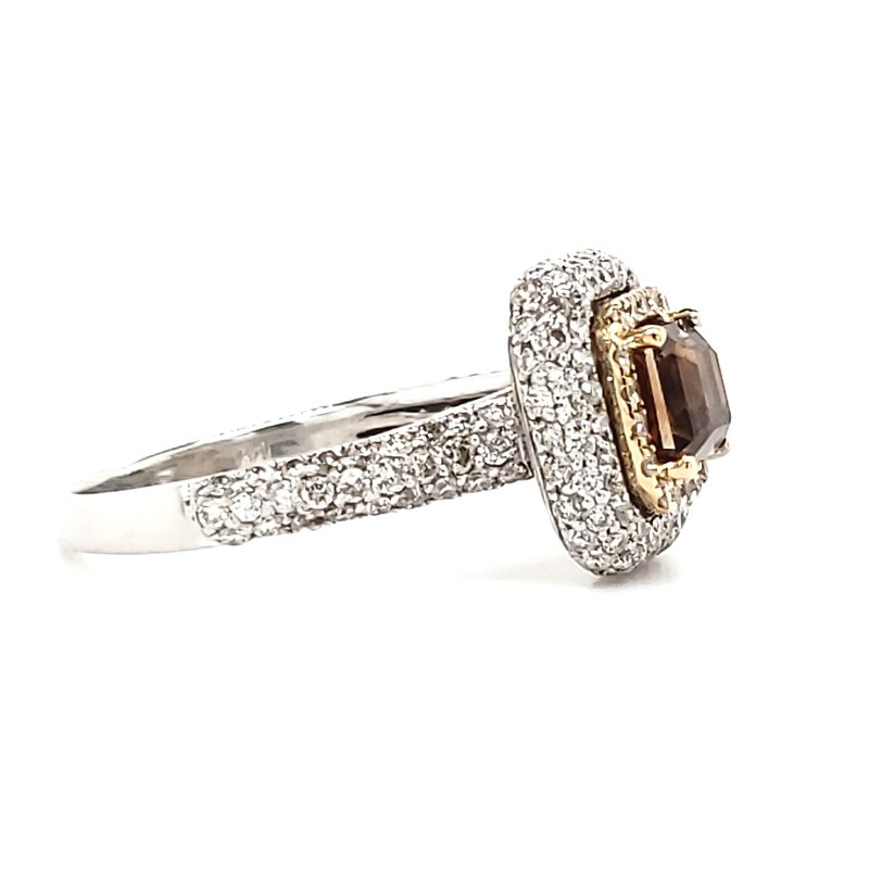 Estate Collection Fancy Brown Diamond Ring