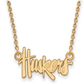 10K Huskers Pendant