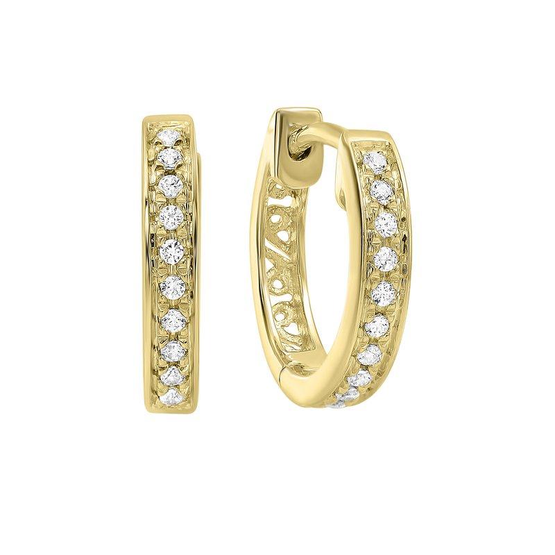 Sartor Hamann Signature Diamond Hoop Earrings