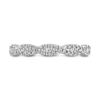 Hearts on Fire Harley Braided Eternity Band