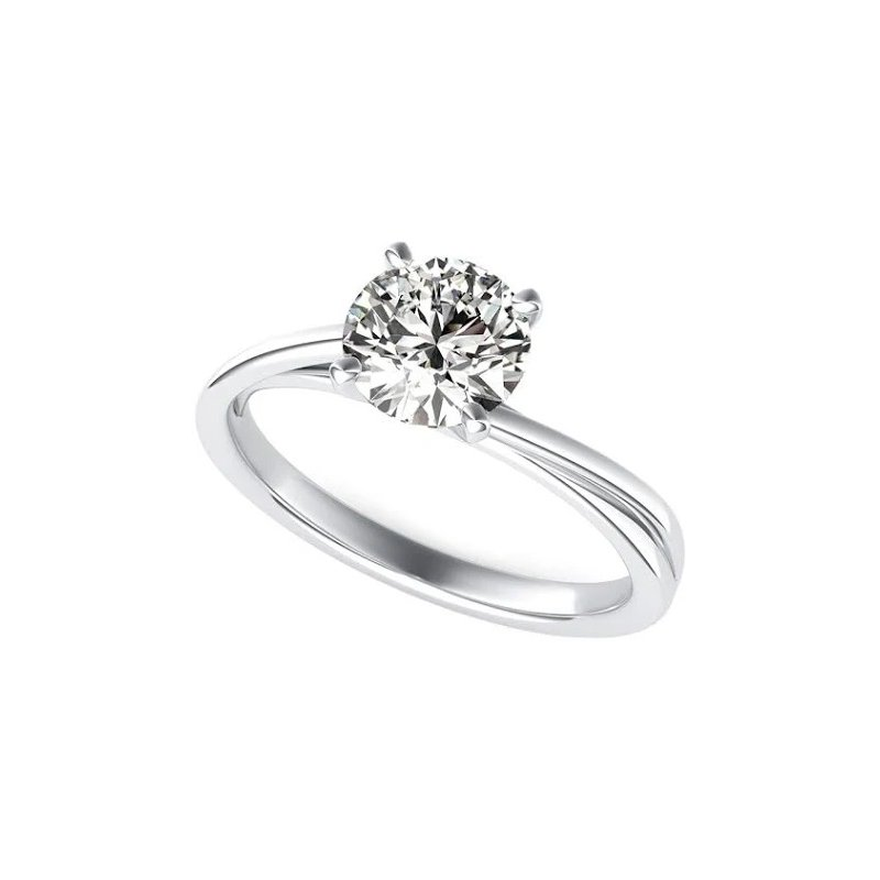 Sartor Hamann Bridal Lab Created Solitaires - 1/2 CT to 1.5 CT - Superior Quality