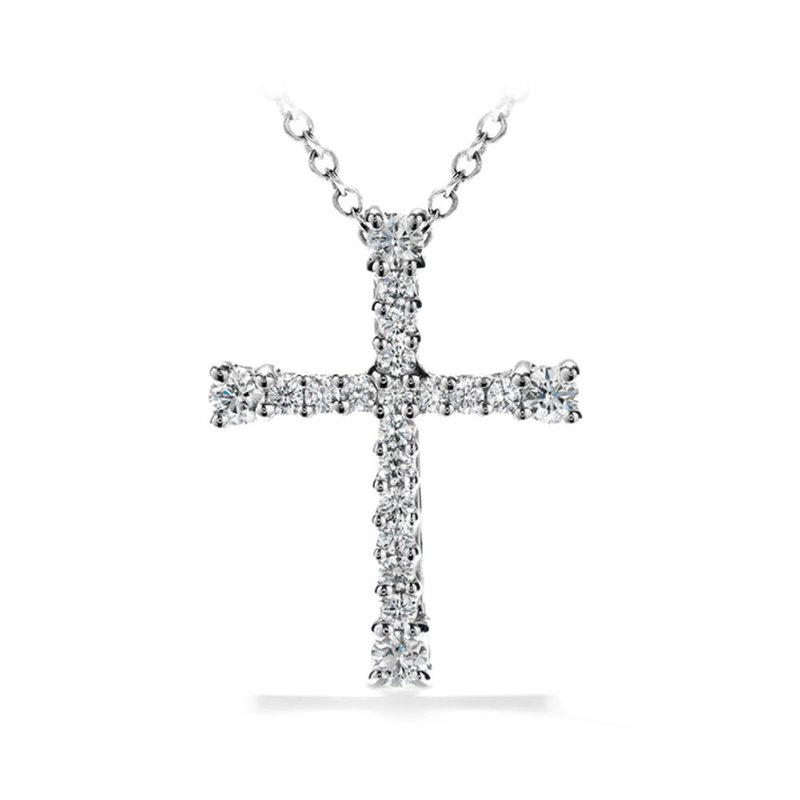 Hearts on Fire Hearts on Fire Divine Cross Pendant in 2 Carat Weights