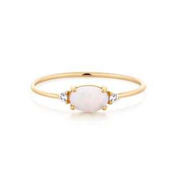 Rhea Opal and  Topaz  Ring