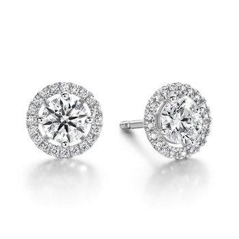 Hearts on Fire Joy Diamond Earrings
