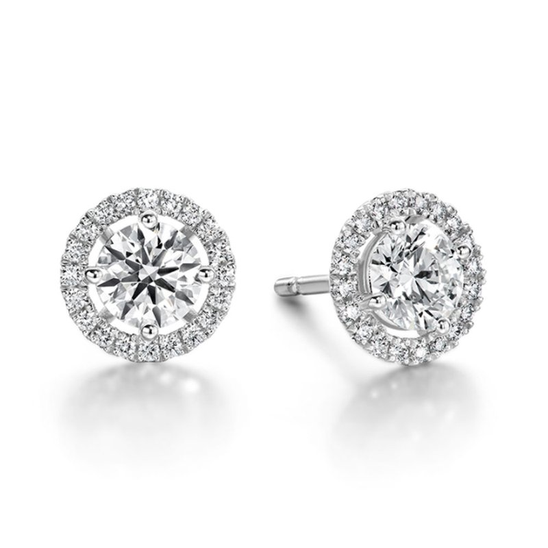Sartor Hamann Signature Hearts on Fire Joy Diamond Earrings