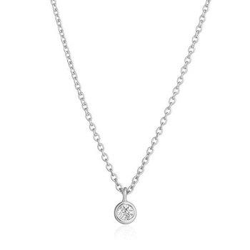 Bria Diamond Solitaire Pendant