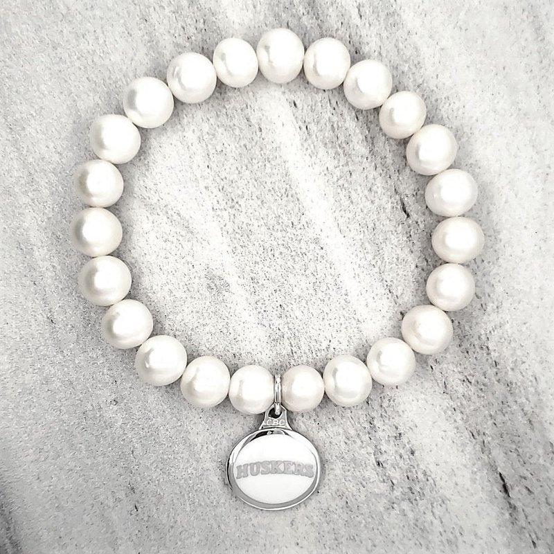 Husker Jewelry Collection Husker Pearl Bracelet