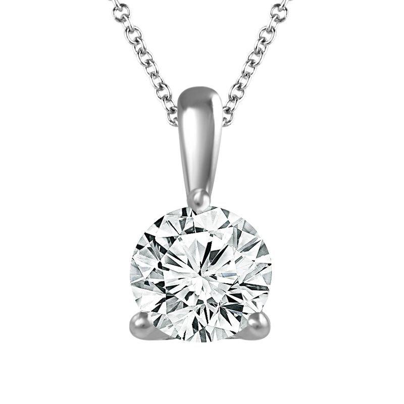 Sartor Hamann Signature Diamond Solitaire Pendant - Classic Quality in 1/4 CT to 1 CT