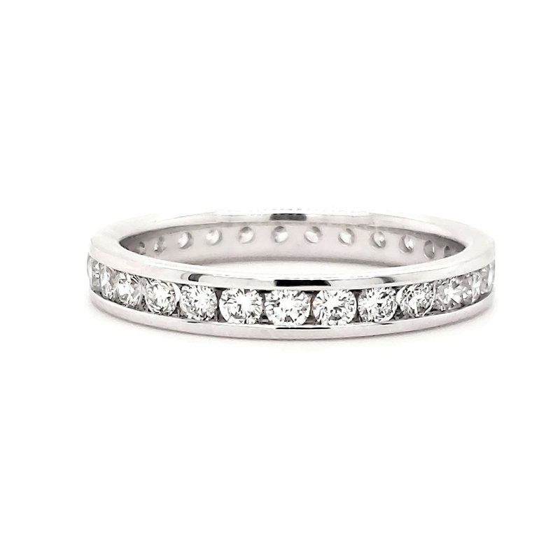 Sartor Hamann Closeouts Channel Set Eternity Band