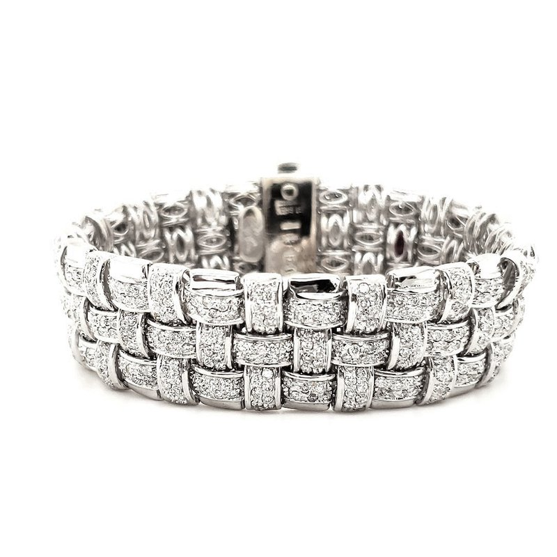 Estate Collection Roberto Coin Diamond Bracelet