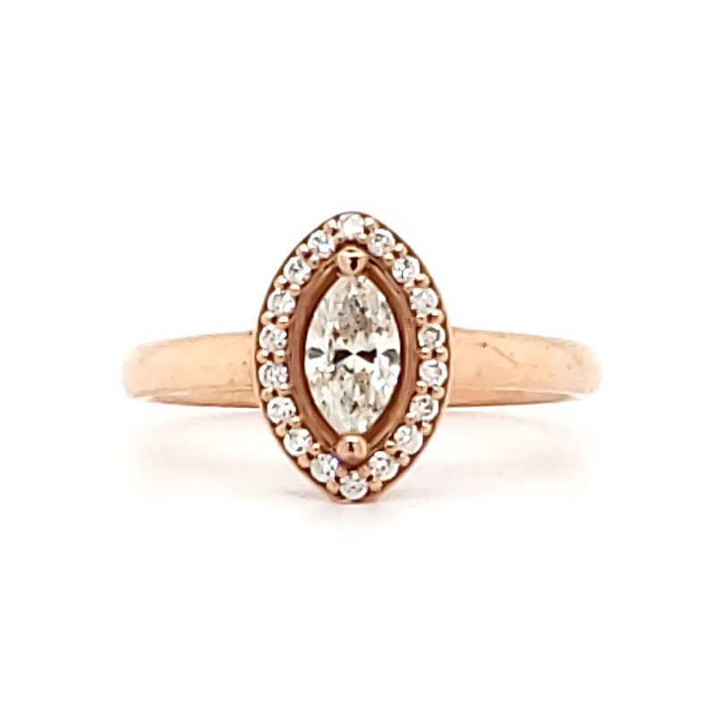 Sartor Hamann Bridal Marquise Engagement Ring