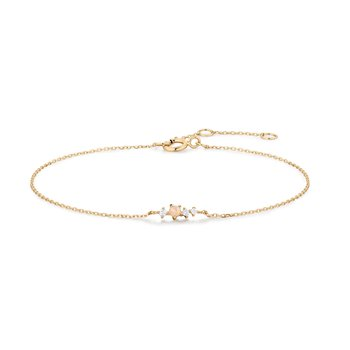 Venus Opal and Diamond Bracelet