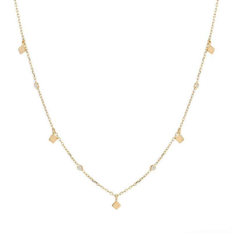 Aurelie Gi Soma Dangling Topaz Necklace