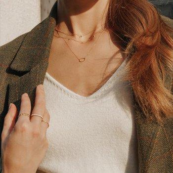 Soma Dangling Topaz Necklace
