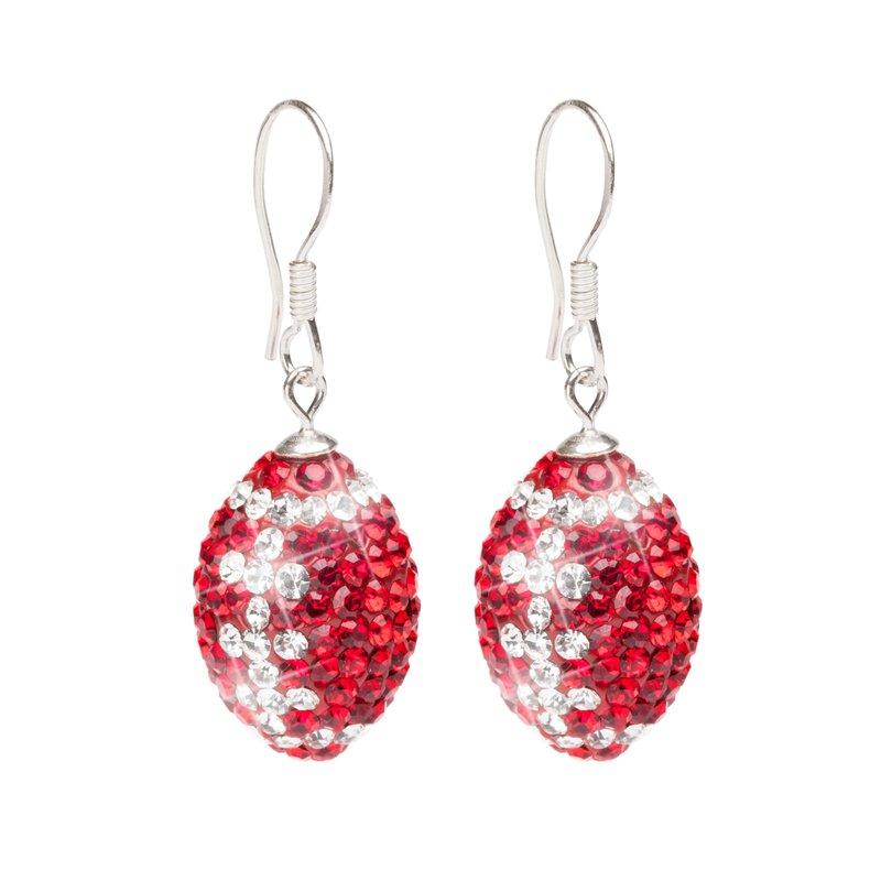 Husker Jewelry Collection Husker Football Dangle Earrings