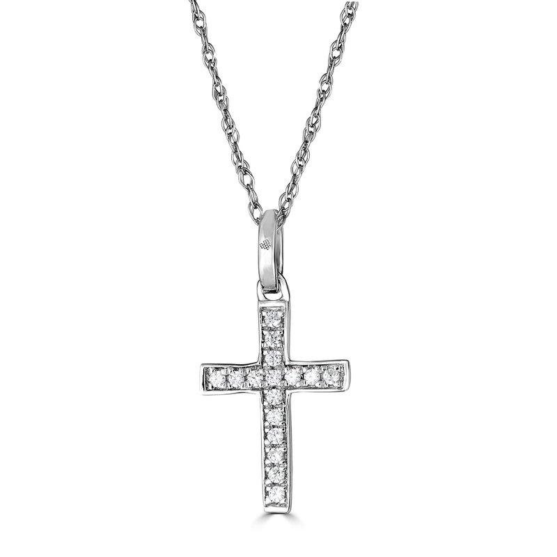 Sartor Hamann Signature Diamond Cross Pendant
