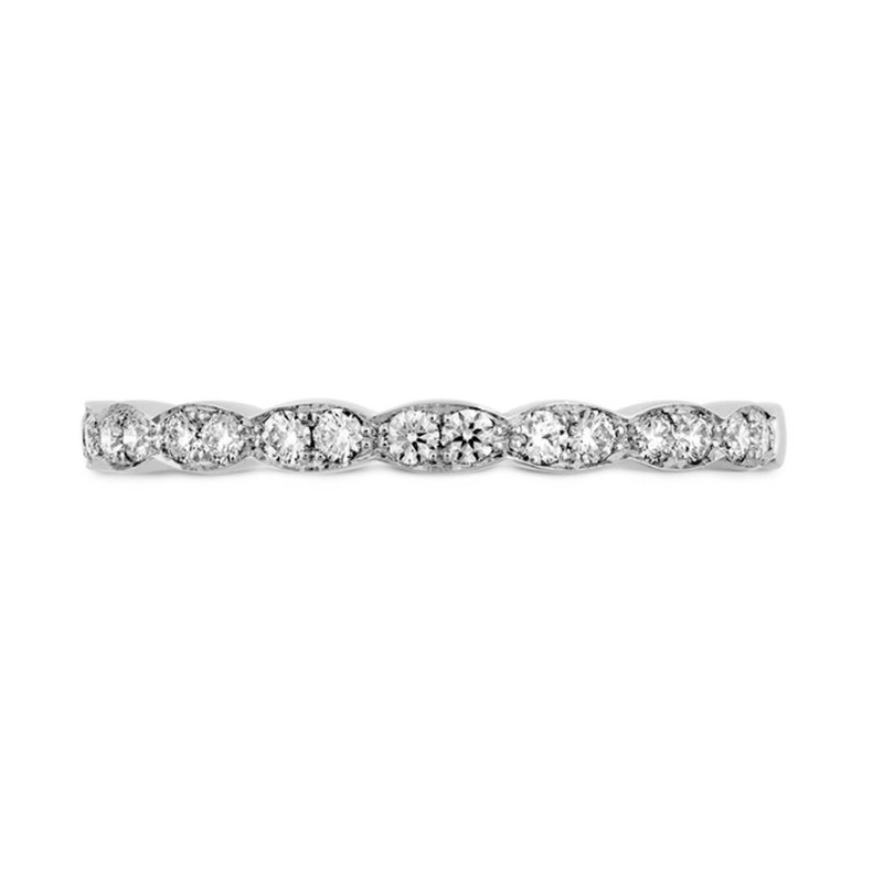 Sartor Hamann Bridal Hearts on Fire Stackable Wedding Band