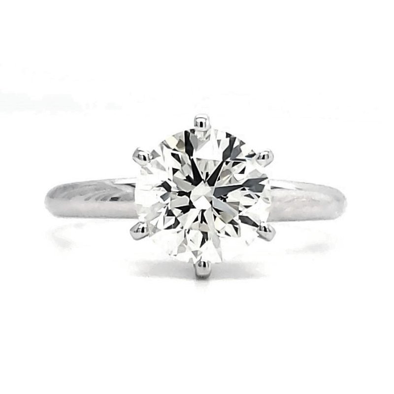 Sartor Hamann Bridal EXCEPTIONAL VALUE! 2 CT Round Solitaire - Classic Quality