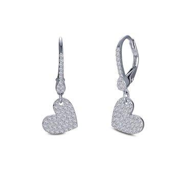 Lafonn Sterling Silver Dangle Earrings