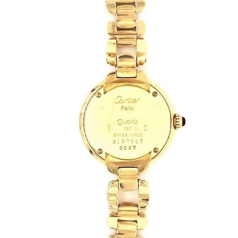 Estate Collection 18K Gold Cartier Watch