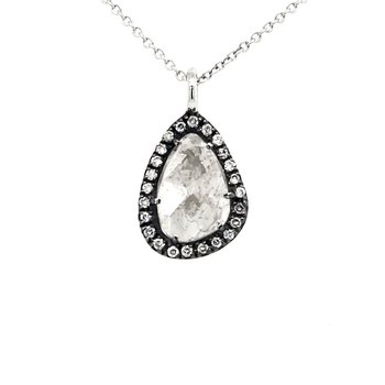 Rough Diamond Pendant