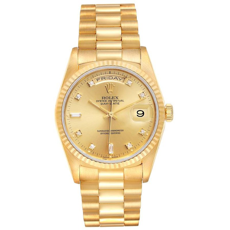 Pre-Owned Rolex Day-Date watch - 36mm