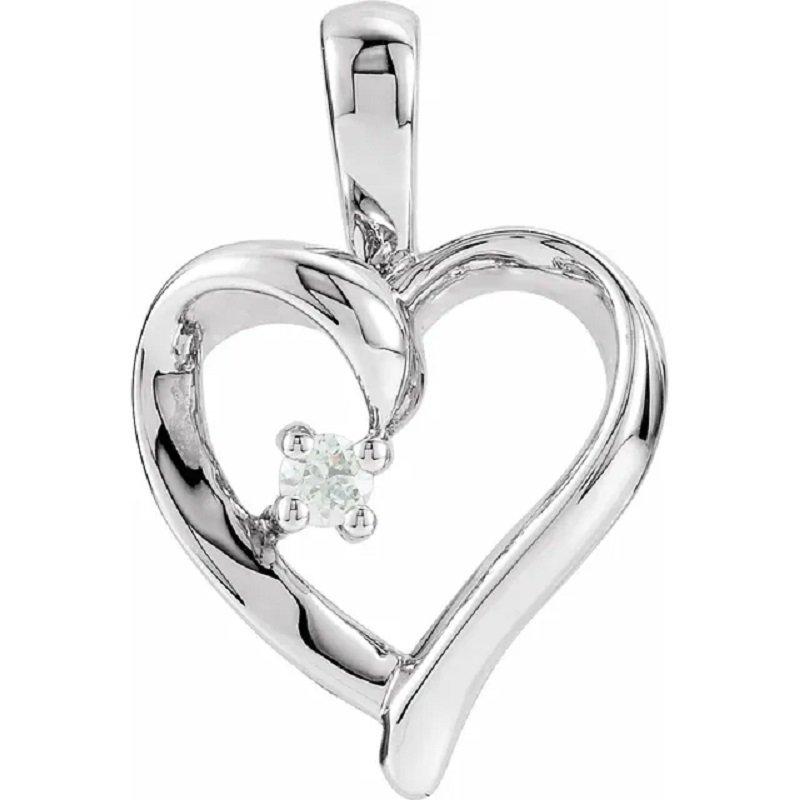 Sartor Hamann Signature Heart Pendant