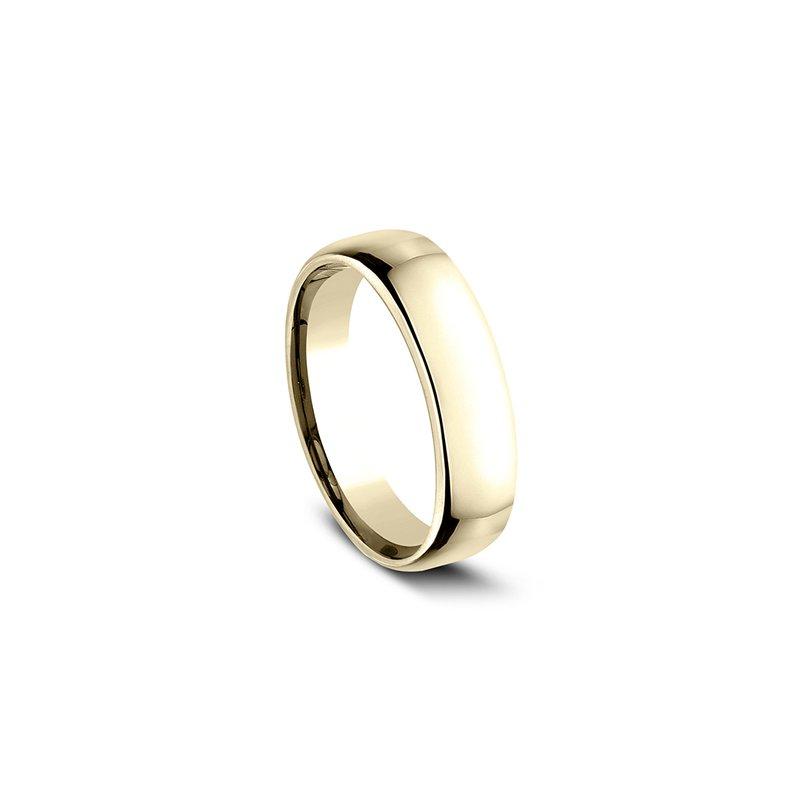 Sartor Hamann Bridal Euro Comfort Fit Wedding Band 6.5mm Yellow Gold