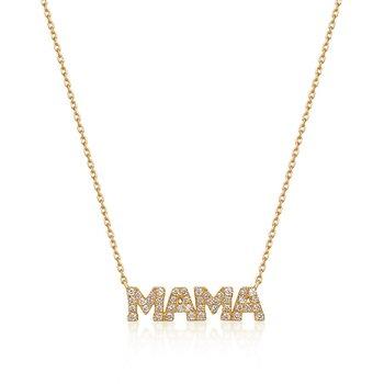 Mere Diamond Mama Necklace